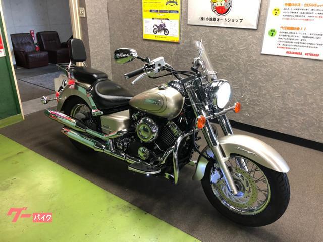 ヤマハ ドラッグスター400クラシック スクリーン エンジンガード ETCの画像(広島県