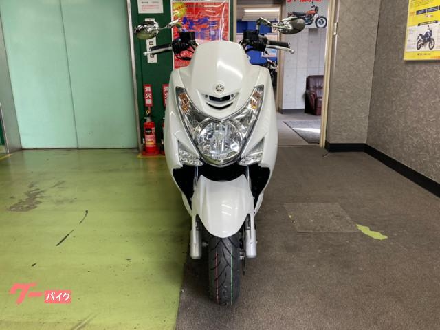 ヤマハ マジェスティS 前後タイヤ新品 ライトカスタムの画像(広島県