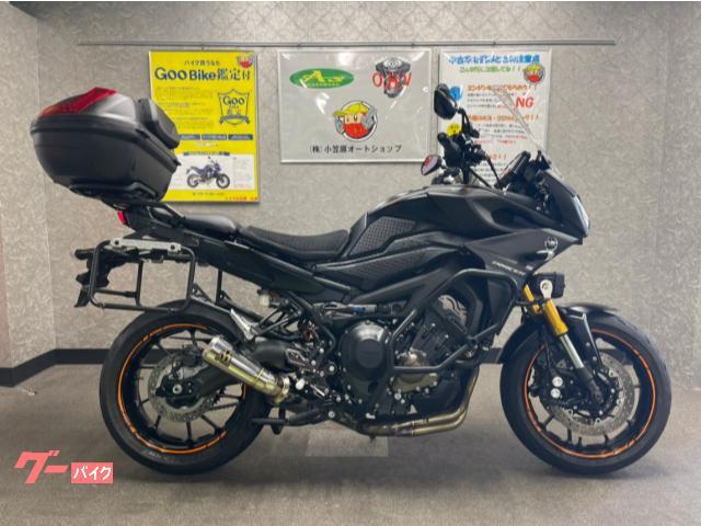 トレイサー900(MT−09トレイサー) SP忠男マフラー カヤバリアサス フォグ