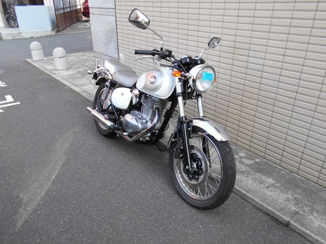 カワサキ エストレヤFI サイドバック付きの画像(広島県