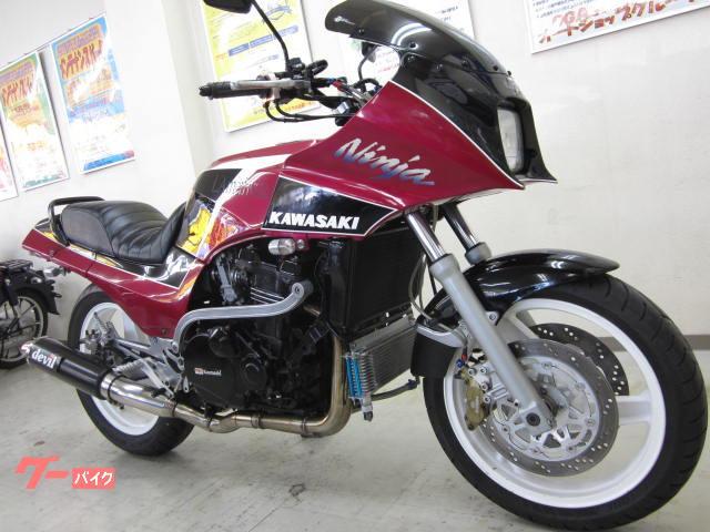 カワサキ GPZ900R A7 FCR デビルマフラー バーハンドルの画像(広島県