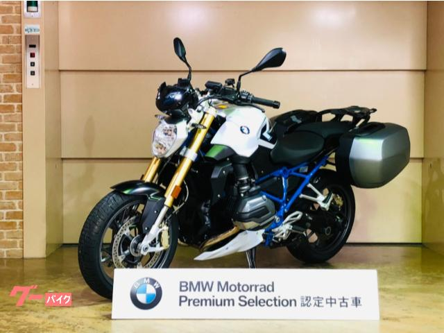 R1200R 2018年モデル パニアケース ETC シリンダーヘッドプロテクター BMW認定中古車 スペアキー&取説あり