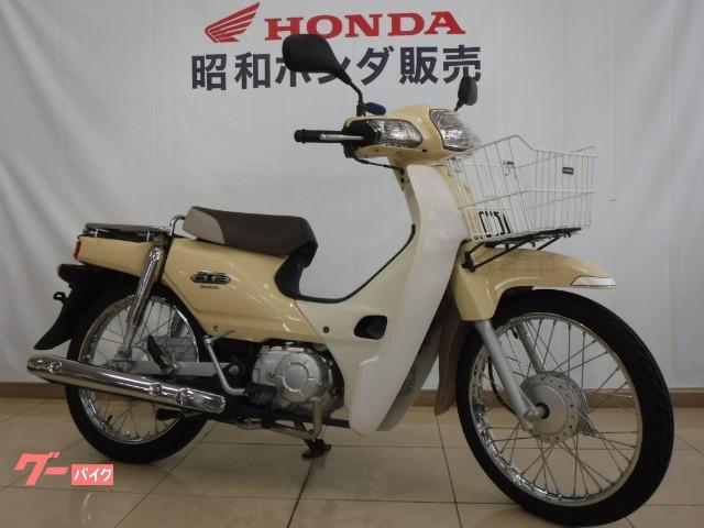 ホンダ スーパーカブ110 ワンオーナー車 フロントバスケットの画像(岡山県