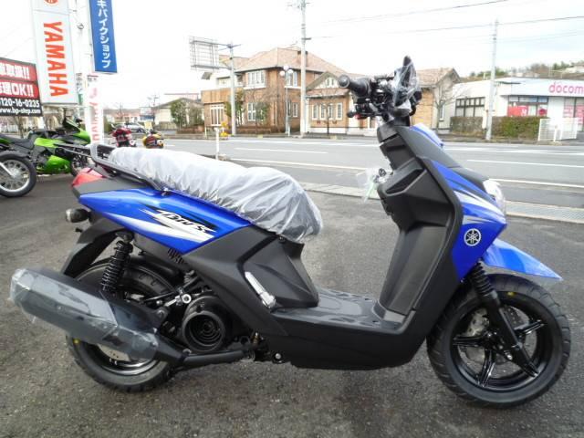 ヤマハ BW'S125 NEWモデルの画像(岡山県