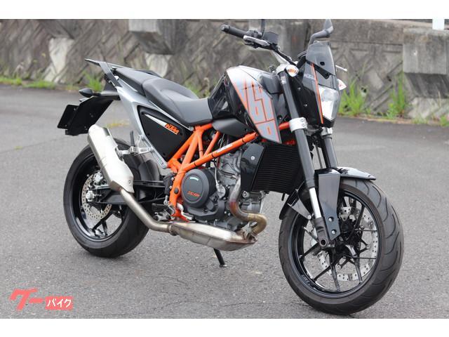 KTM 690デューク ABS EU仕様 ブラックの画像(岡山県
