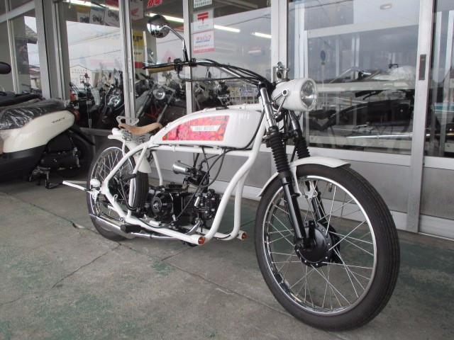 SNAKE MOTORS K-16 teke teke遠心クラッチ・ハンドブレーキモデルの画像(岡山県