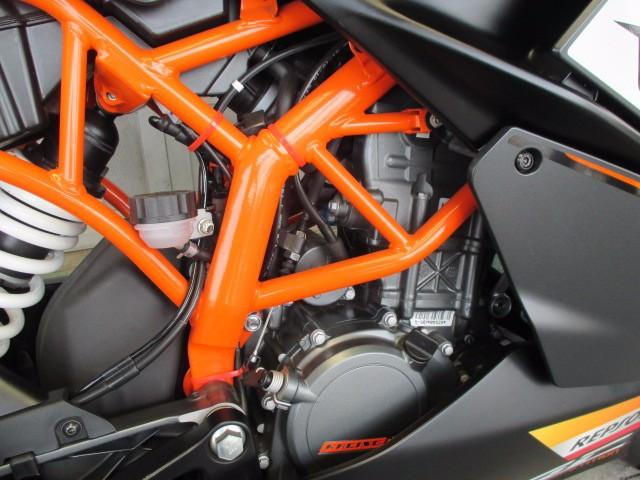 KTM RC125 2015年モデル EU正規車両 エルゴシートの画像(岡山県