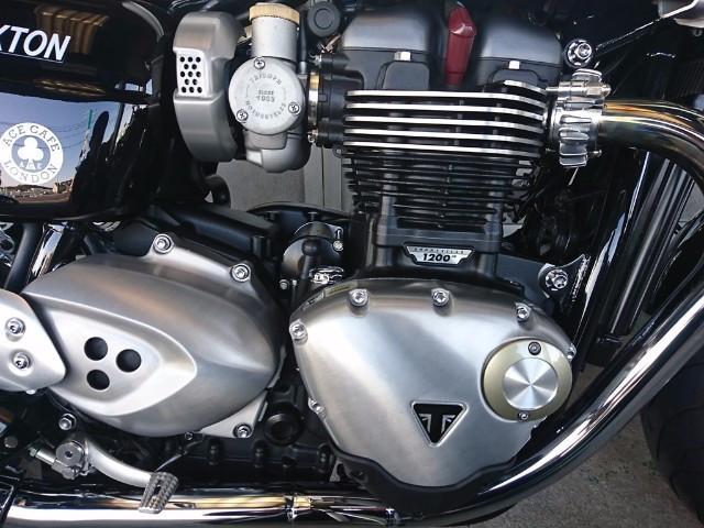 TRIUMPH スラクストン1200 ホワイト カフェレーサー仕様 グーバイク鑑定車の画像(岡山県
