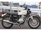 ホンダ CB400SS ホワイト 社外ミラーの画像(岡山県