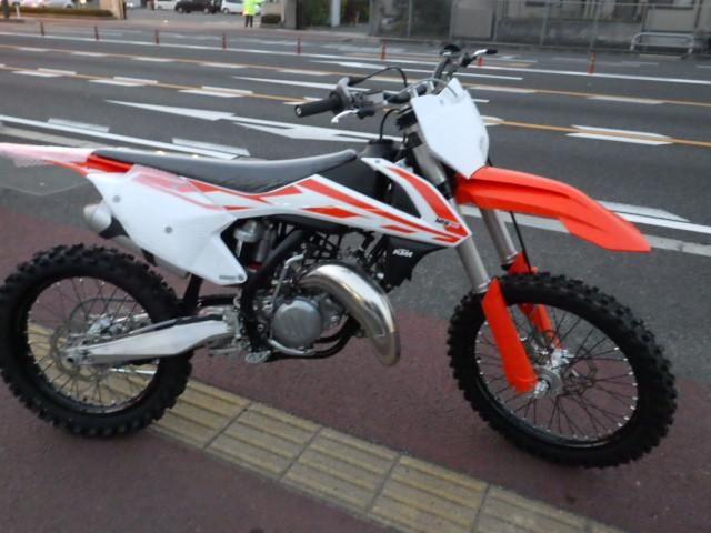 KTM 125SXの画像(広島県