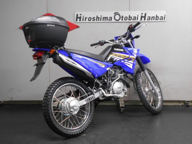 ヤマハ XTZ125 BOX付の画像(広島県