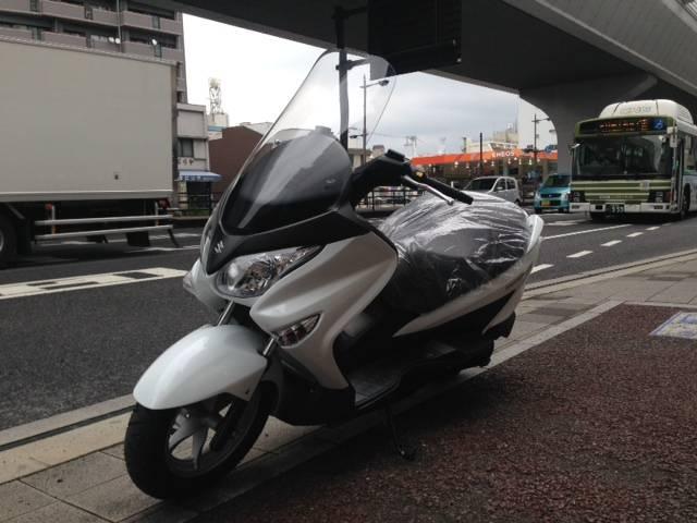 スズキ バーグマン200の画像(広島県