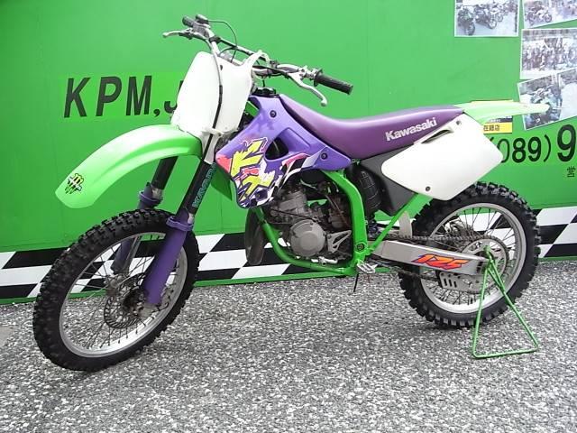 カワサキ KX125の画像(愛媛県