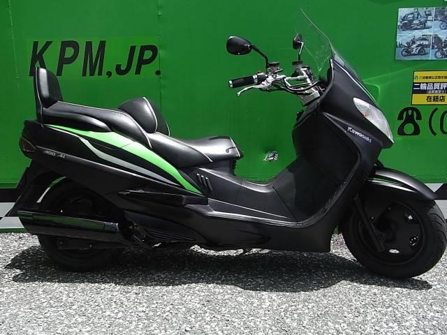 スズキ スカイウェイブ400 カワサキJ300仕様オリジナルカラー グーバイク鑑定車の画像(愛媛県