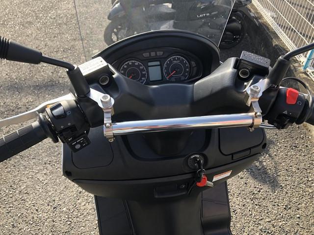 スズキ バーグマン200 ETC グリップヒーター 両目LED点灯化の画像(岡山県