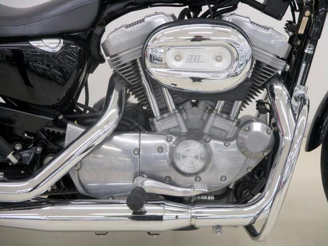HARLEY-DAVIDSON XL883L ロー タンデム仕様 エンジンガード スタンドエクステンションの画像(広島県
