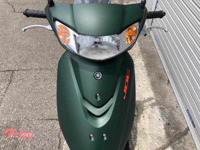 ヤマハ JOG 新車 2021年新色の画像(徳島県