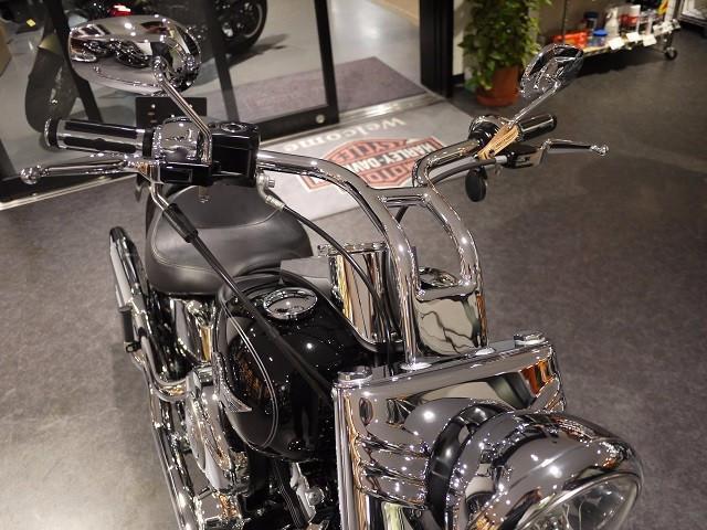 HARLEY-DAVIDSON FLSTF ファットボーイ ハンドルカスタム グーバイク鑑定車の画像(徳島県