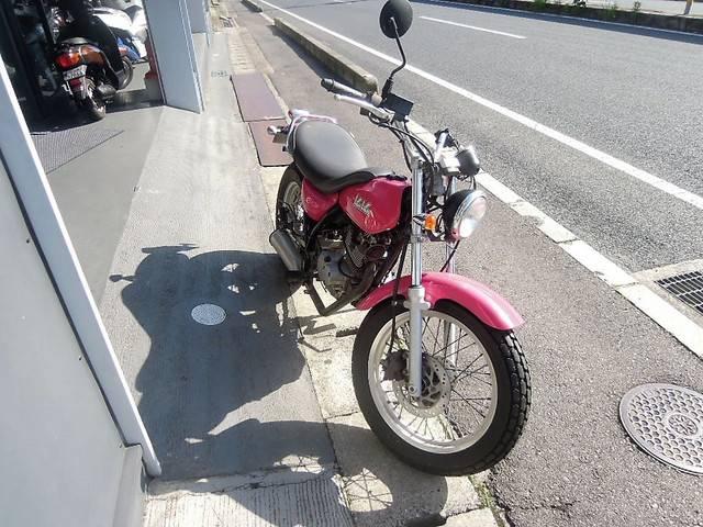 スズキ バンバン200ピンクSPの画像(広島県