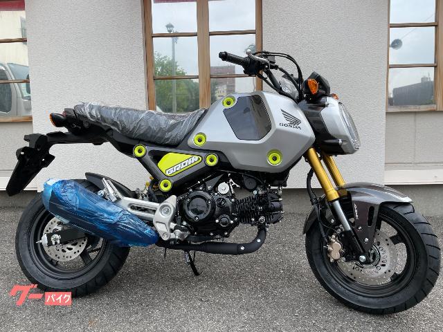 グロム 国内仕様 5速ミッション ABS搭載 多機能メーター フォースシルバーメタリック