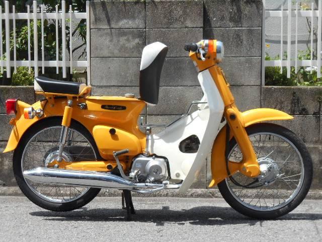 スーパーカブ50 C50ST 黄カブ