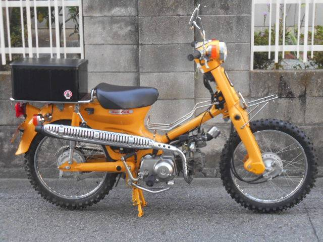 スーパーカブ50スタンダード C50ST2 黄カブ