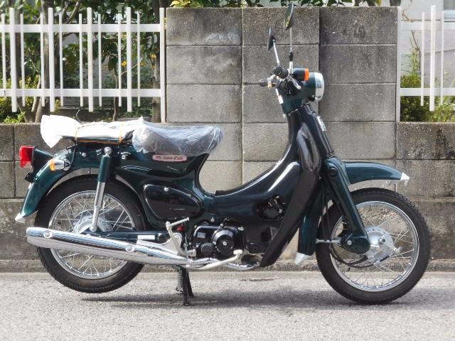 リトルカブ50 4速 タスマニアグリーンxブラック