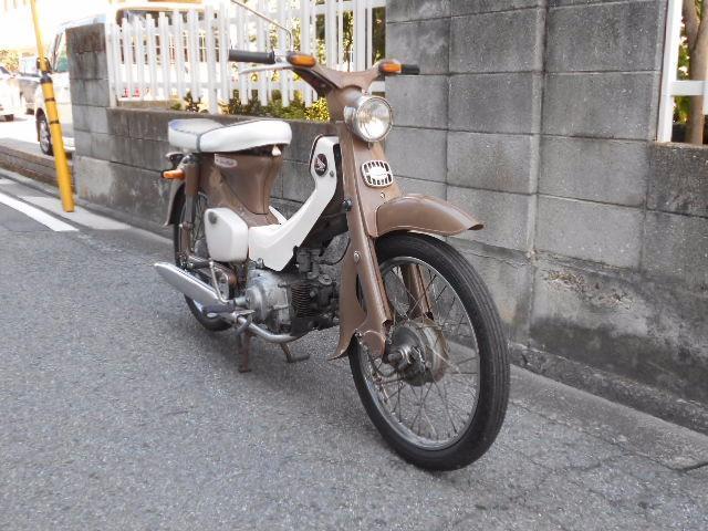 ホンダ C100 スチューデント風の画像(愛媛県