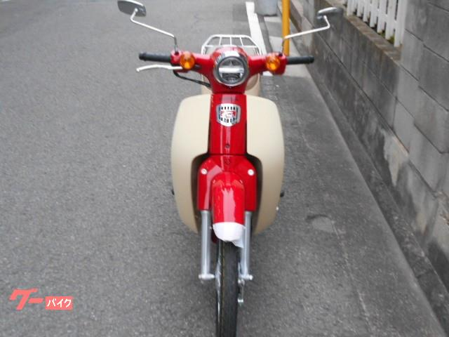 ホンダ スーパーカブ50 60周年記念モデル パーツ5点特別仕様車の画像(愛媛県