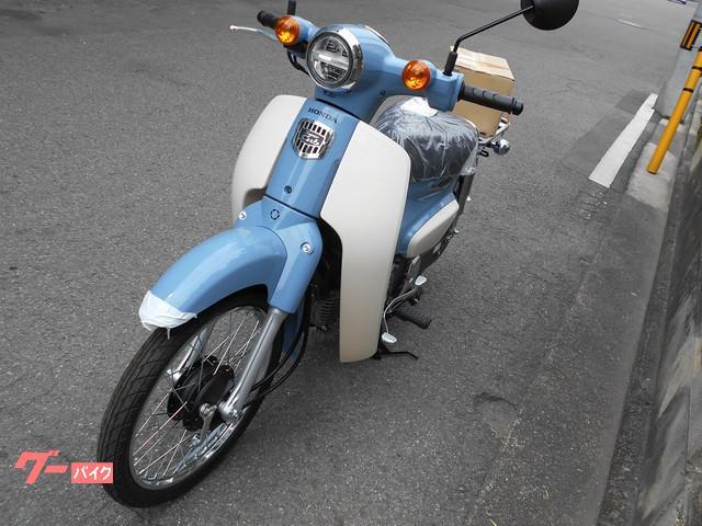 ホンダ スーパーカブ50 ボニーブルー タクボオリジナルの画像(愛媛県