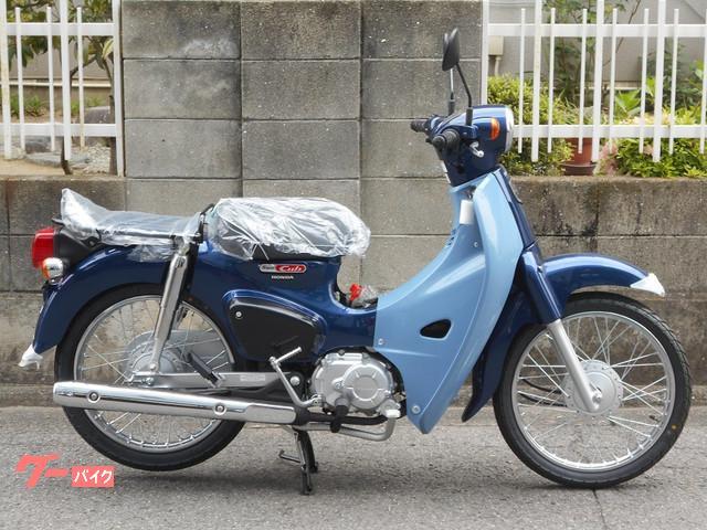 スーパーカブ50 デニムブルーx ブラック タクボオリジナル