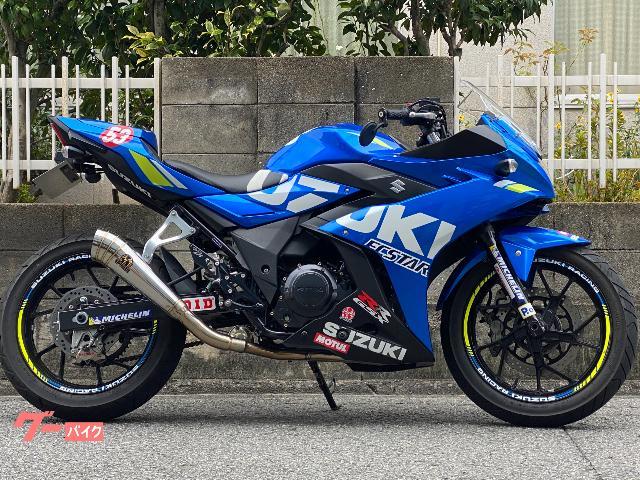 GSX250R  x  SP忠男パワーボックスメガホン