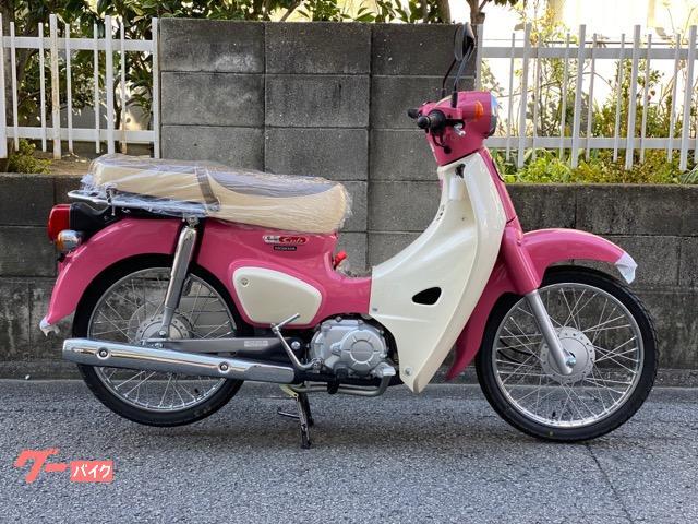 スーパーカブ50 サマーピンク wシートスタイル