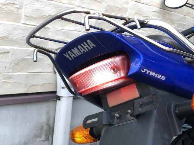 ヤマハ YBR125 マフラー LEDライトの画像(愛媛県