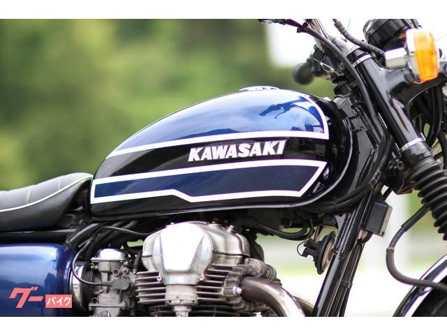 カワサキ W650 w3仕様タンク 大和マフラーの画像(高知県