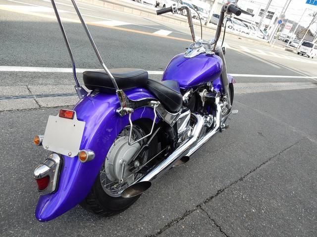 ヤマハ ドラッグスター400クラシックの画像(山口県