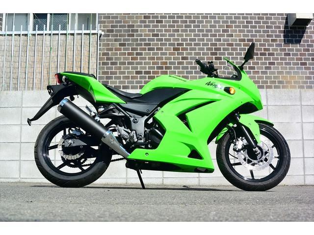 カワサキ Ninja 250R ワンオーナー車の画像(広島県
