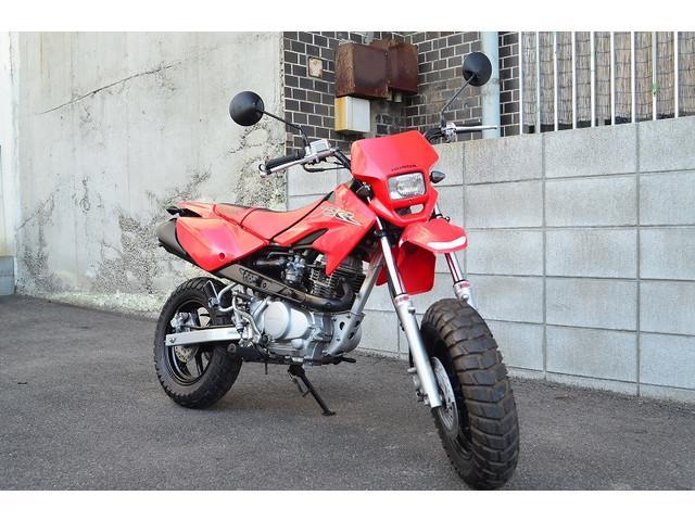 ホンダ XR100 モタード 絶版モデル ライトカスタム済みの画像(広島県