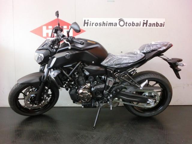 ヤマハ MT-07 ABS 2018年モデルの画像(広島県