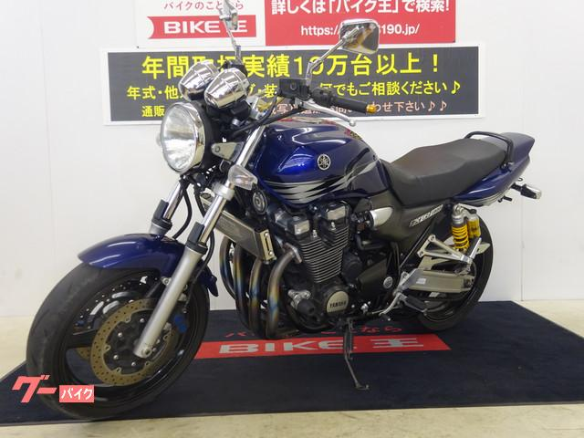 ヤマハ XJR1300 RP17型 インジェクションモデル ノジマフルチタンマフラー フェンダーレスキット カスタムハンドルの画像(岡山県