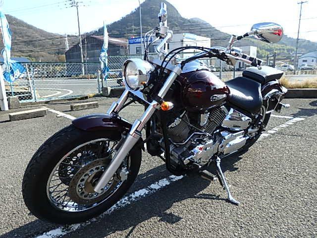 ヤマハ ドラッグスター1100 前後タイヤ交換済みの画像(香川県