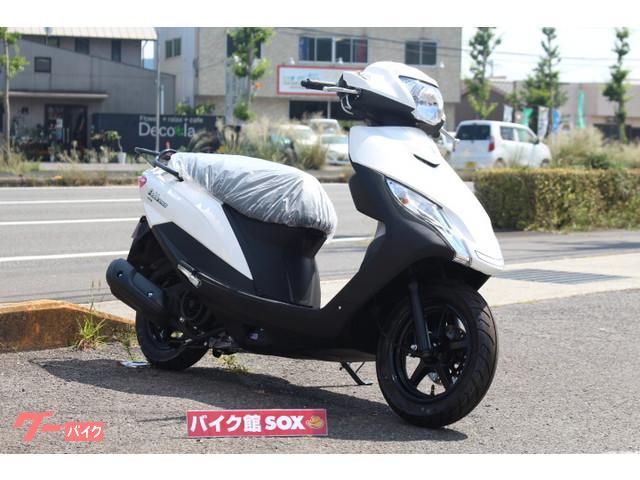 スズキ アドレス125 フラットシートの画像(香川県