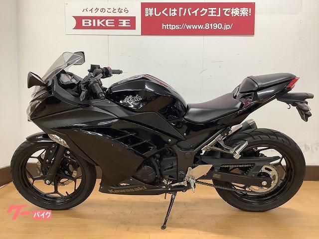 カワサキ Ninja 250 フルノーマル・マルチバー・メットホルダー装備の画像(愛媛県