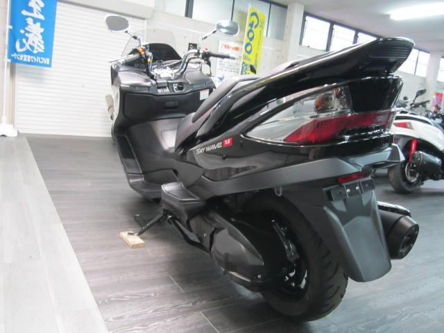 スズキ スカイウェイブ250 タイプM 最終モデルワンオーナーの画像(愛媛県