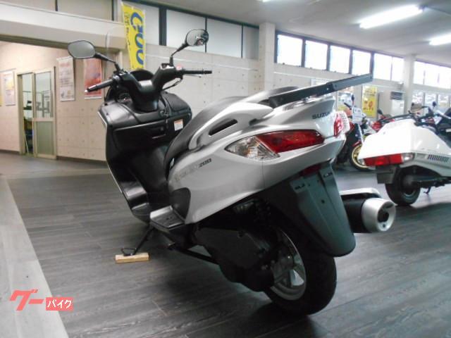 スズキ バーグマン200 ワンオーナーの画像(愛媛県