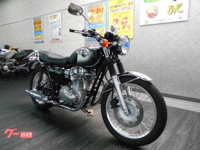 カワサキ W800 リアキャリア装備の画像(愛媛県