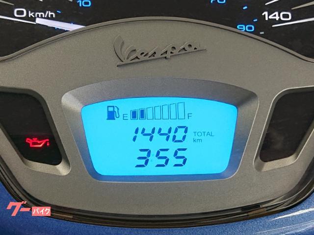 VESPA プリマベーラ125 2014年モデル リアキャリア オートマベスパ スペアキーありの画像(山口県