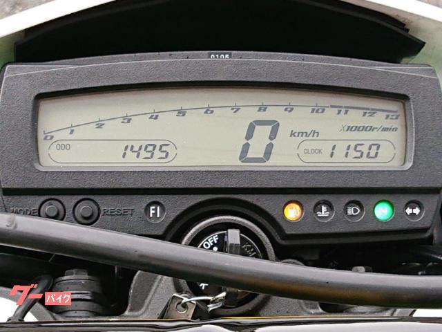 カワサキ KLX250 ファイナルエディション 2016年モデル DELTAスリップオン リアキャリア他カスタム スペアキーありの画像(山口県