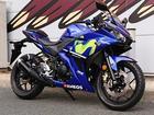 ヤマハ YZF-R25 Movistar Yamaha MotoGP Edition 2017年モデル ETC スペアキーありの画像(福岡県