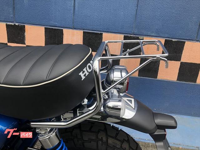 ホンダ モンキー125 ABS リアキャリア グリップヒーターの画像(岡山県